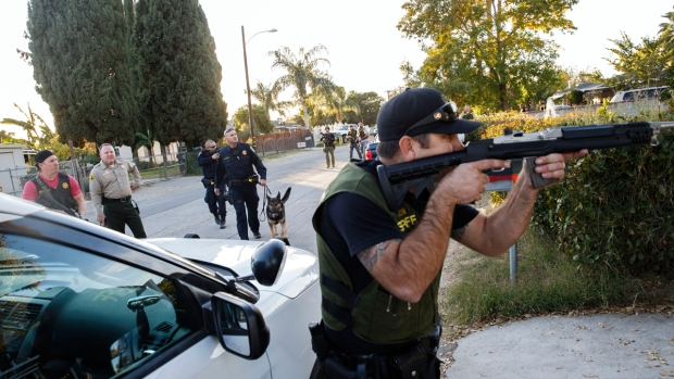 Terror on the Streets of San Bernardino After Mass Shooting