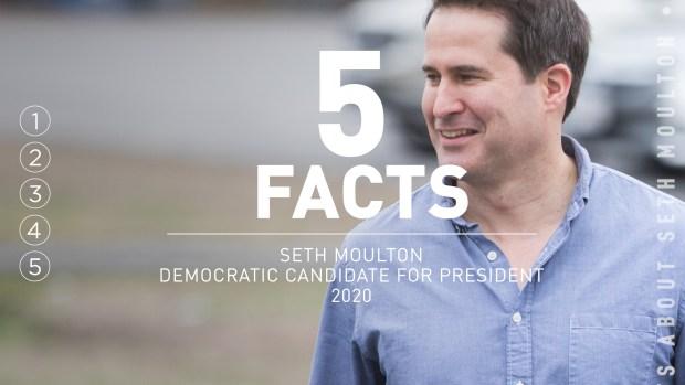 [NATL] 5 Facts: Seth Moulton