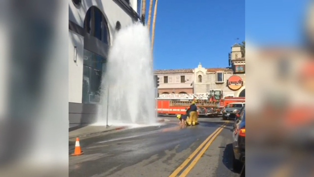SoCal Water Main Breaks