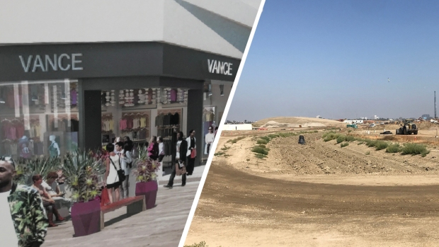 Construction Starts on Premium Outlets Mall in South Bay