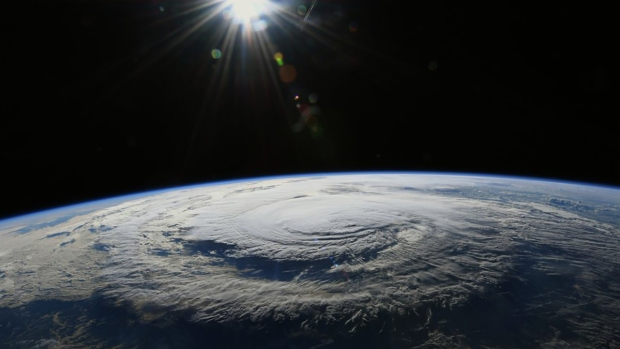 [NATL]See Florence Develop From Tropical Storm to Major Hurricane From Space