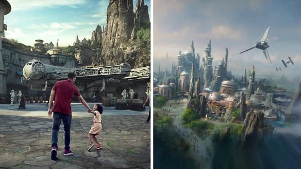 These New Star Wars Land Photos Will Send You Over the Galaxy's Edge
