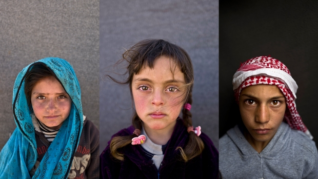 See Portraits of Some of the 700,000 Syrian Child Refugees
