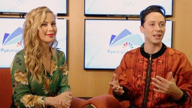 Tara Lipinski and Johnny Weir Make Pyeongchang Predictions