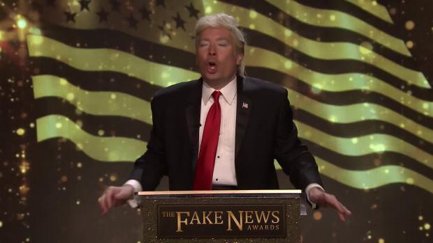 [NATL] 'Tonight': Trump's Fake News Awards