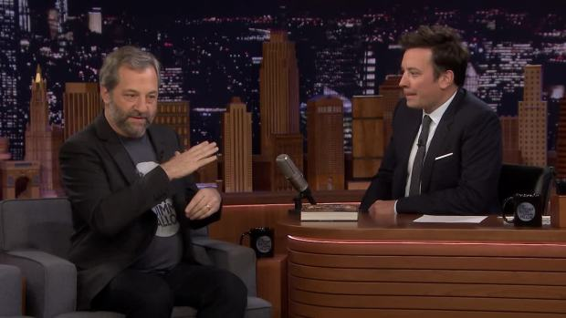 [NATL] 'Tonight': Judd Apatow, Jimmy Nearly Arrested Over Candy Fight