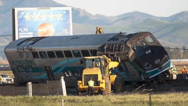 [LA] NTSB Probes Train Crash Cause
