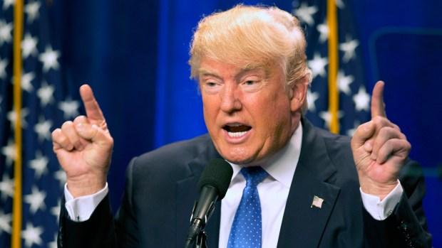[NATL] Trump Criticizes Clinton After Orlando Shooting
