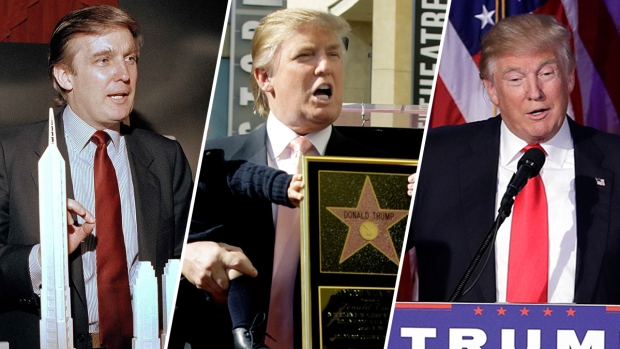[NATL] Donald Trump Through the Years