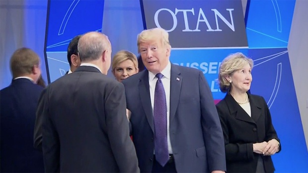 [NATL] Trump Body Language Signals Frosty Relations