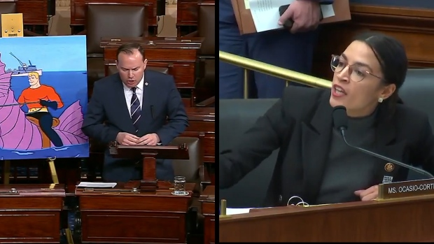 [NATL] Watch: Sen. Mike Lee Says Babies Are 'Real Solution' to Climate Change, AOC Responds to 'Elitist' Claim