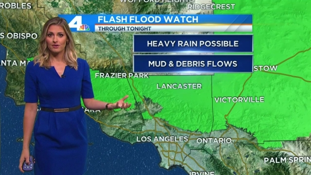 [LA] AM Forecast: Heavy Rain and Thunderstorms to Return