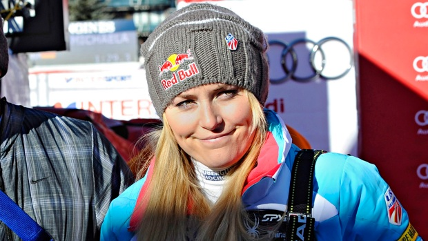 [AP] Injured Lindsey Vonn Posts Sochi News on Facebook