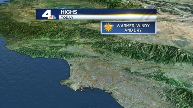 AM Forecast: Strong Winds Again