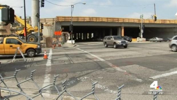 [LA] Northbound 405 Freeway Carpool Lane Open