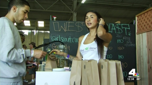 [LA] Medical Marijuana Farmers Market Opens to Big Crowds