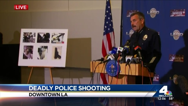 "[LA] Chief: Man ""Forcibly Grabbed"" for Officer's Weapon"