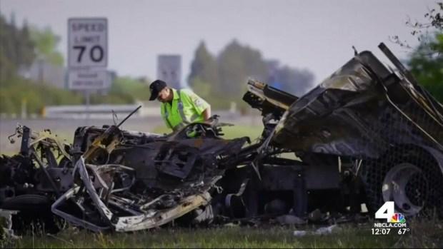 [LA] Deadly Tour Bus Crash Report's Release Expected