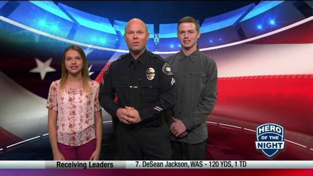 Challenge Hero: Corona Officer Jason Waldon