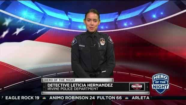 Challenge Hero: Detective Leticia Hernandez