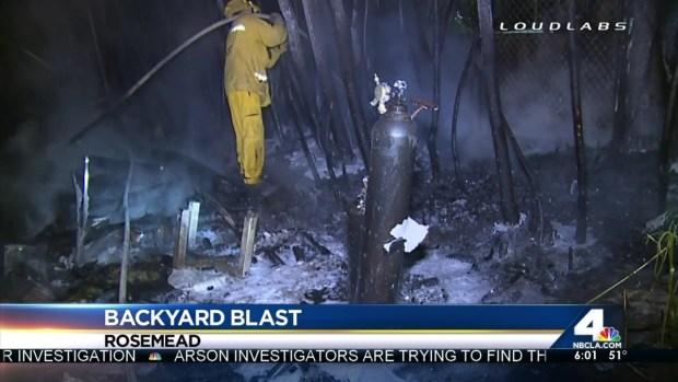 [LA] Explosion, Fire Force Neighborhood Evacuations