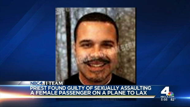[LA] Priest Convicted of Sexually Assaulting Woman on Plane