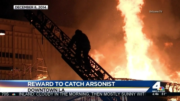 [LA] Reward Offered in Downtown LA Apartment Fire