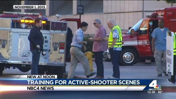 "[LA] LAFD Training to Enter ""Warm Zones"" of Active Shootings"