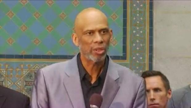 [LA] Kareem Abdul-Jabbar: NBA Commissioner Did The Right Thing