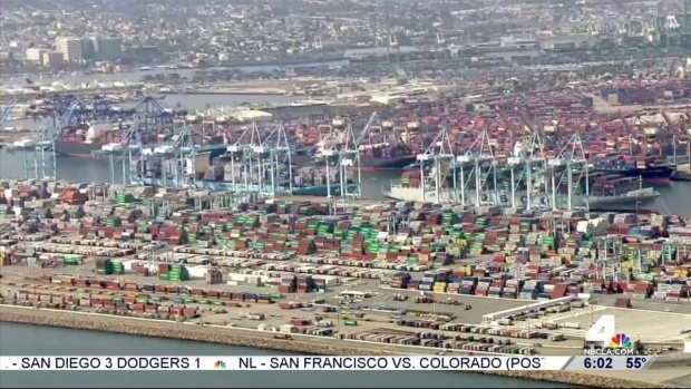[LA] LA, LB Port Truck Drivers Strike
