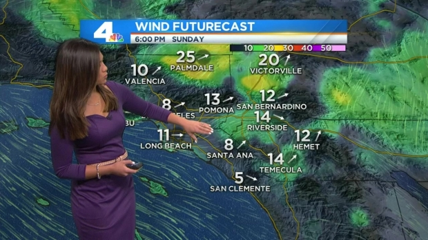 [LA] Forecast: Prado Dam Fire