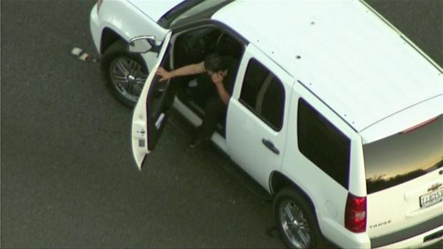 [LA] DUI Driver Spins at End of Pursuit