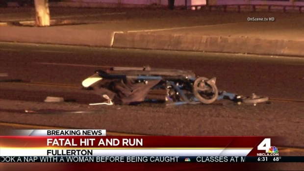 [LA] Man in Wheelchair Killed in Hit-and-Run Crash