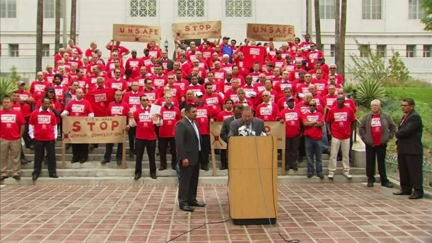 [LA] Cab Driver Demand Crackdown on Ride-Share Apps