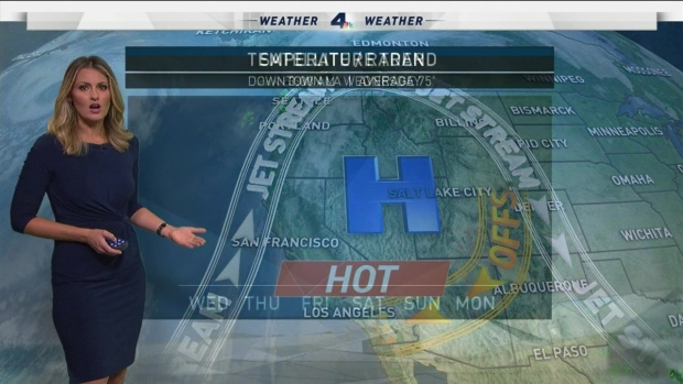 [LA] AM Forecast: Dry, Record-High Temps