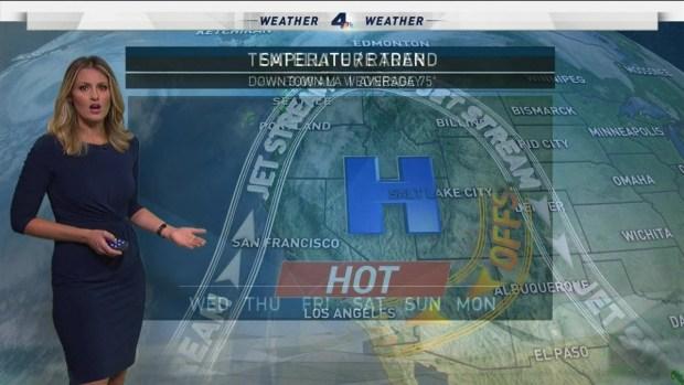 [LA] AM Forecast: Dry, Record-High Temps