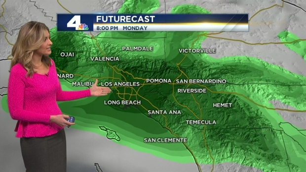 [LA] AM Forecast: Rain, Snow in Mountains