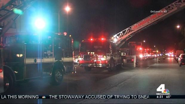 [LA] Mother, Son Killed in Encino Apartment Fire