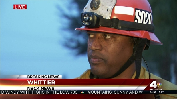 [LA] Fire Captain Credits Boy's Nose With Saving Family