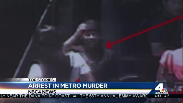 [LA] Woman Arrested in Connection With Fatal Metro Station Beating: Family