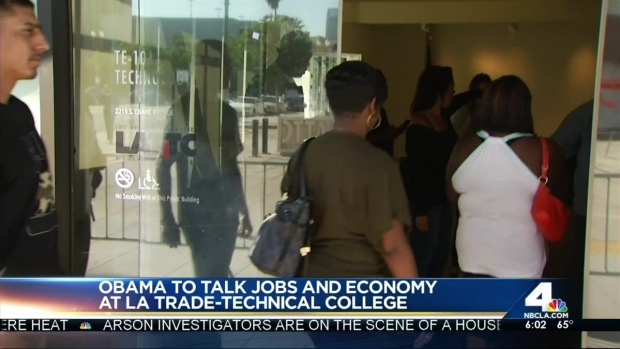 [LA] President Obama Busy on 2nd Day of LA Visit