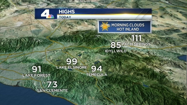 AM Forecast: Heat Continues