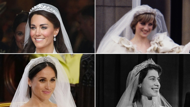 Royal Brides and Their Wedding Day Tiaras