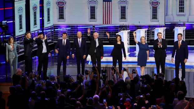 [NATL] 10 Democratic Candidates Make Cut for September Debate
