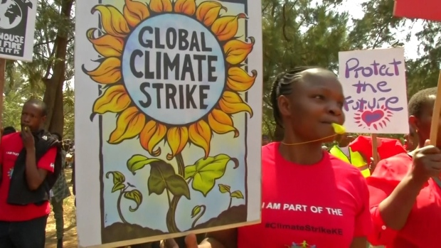 [NATL] WATCH: 'Climate Strikes' Around the World
