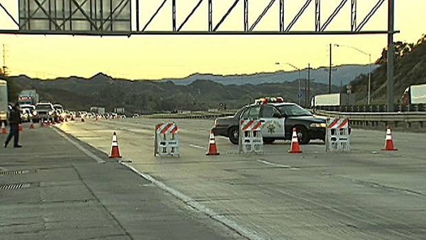 [LA] Grapevine Reopens After Ice, Snow Shut it Down