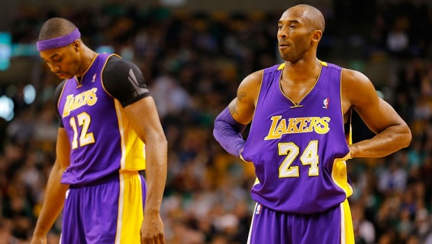 All-Stars Kobe Bryant and Dwight Howard Unable To Connect