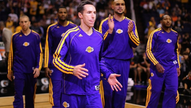 [LA] Lakers Practice: Steve Nash Injury Update 4-6-2013