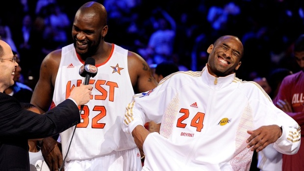 Kobe and Shaq Feud Over, Seriously