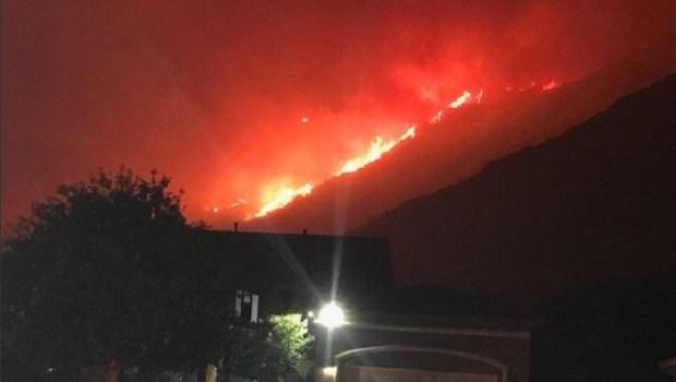 [LASTRINGER] Brush Fire Prompts Evacuations, School Closures